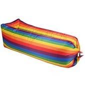 """Бесплатная доставка """"Укрпочтой""""! Ламзак Air Sofa rainbow. Длина - 2.35 метра."""