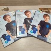 Распродажа! 1 упаковка из 2 суперовых коттоновых футболок с динозаврами для мальчик! Размер на выбор