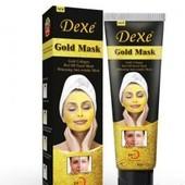 Золотая маска. Маска для лица Dexe Gold Mask. Мощное омолаживающее средство.