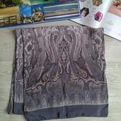 Шёлковый шарф 100% саржевый шелк