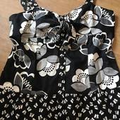 Классная кофточка большого размера в черно-белом цвете Next