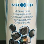 Упаковка чистящих влажных салфеток для очков, любой оптики и компьютерной техники