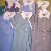 !!! Женская блуза/рубашка с коротким рукавом!!! Смотрим наличие!!!