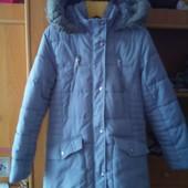 Куртка, холодная зима. внутри шерпа, размер 10-11 лет 140-146 см. George. состояние отличное