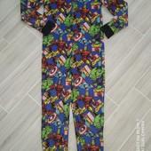 Слип пижама флис на 11лет замеры на фото