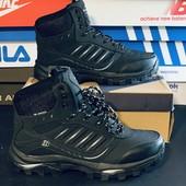 Bona, зимние кожаные ботинки Бона р41 (26,5 см) Распродажа последних размеров - 70%