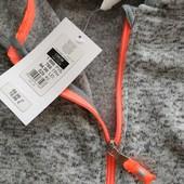 Теплая Фирменная флисовая кофточка для девочки,134 размер
