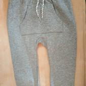 Утепленный спортивные штаны джогеры, р 74/80 от Lupilu