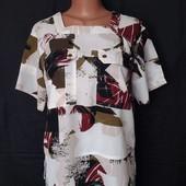 Качественная фирменная блузочка с карманчиками,Next,L/xl