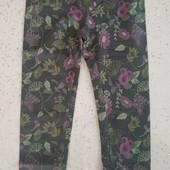 Шикарные плотные лосины для девочки, размер 110