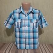 Фирменная рубашка George (Джордж), на 4-5 лет, рост 104-110см, качественная,в идеальном состоянии 5+