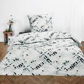 Meradiso Качественный комплект двусторонний постельное белье полуторка наволочка и пододеяльник