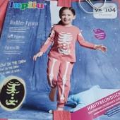❦ Пижама девочке Lupilu 98/104,светится в темноте❦