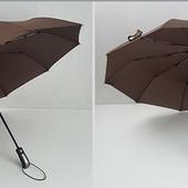 Зонт автомат (новый) в 3 сложения 2 цвета