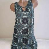 Очень красивое летнее платье в орнамент Apricot pp 12