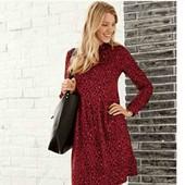 esmara.стильное вискозное платье евро 38+6замеры нюанс