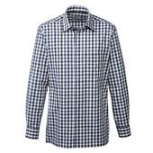 Коттонова рубашка regular fit. Розмір 42/16.5