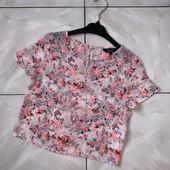 Стоп! ❤️ Цветочная фирменная блузка для девочки. Много лотов, заходите)