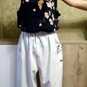 Собираем лоты!! Комплект на пышную красу, брюки +блуза, размер xl