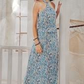 Яркий женственный сарафан платье Blue Motion. Размер M, евро 40-42