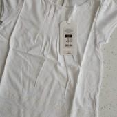 Бесподобная фирменная футболка для девочки, размер 116
