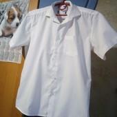 рубашка на мальчика белая в школу состояние хорошое