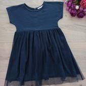 Платье для девочки 2-4года. Bout'shou. Хорошее состояние.