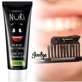 Уникальная! Зубная паста «Отбеливание & Детокс» с углём Nuki-технологии faberlic/ укрпочта-10%