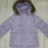 Теплая курточка-жилетка 2в1 замеры на фото