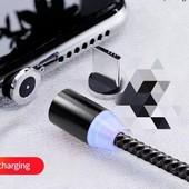 Магнитный кабель Micro USB для зарядки.