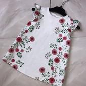Стоп!❤️Нежное цветочное платье с маками для малышки ❤️ Много лотов, заходите)