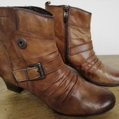 Кожаные ботинки Tamaris, 25 см