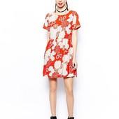 Красивое платье в цветы glamorous