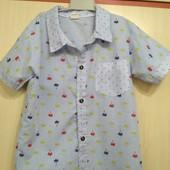 Рубашки для мальчика ( в лоте все три ) состояние- идеал