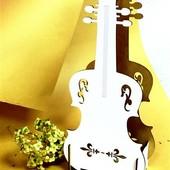 """Кашпо для квітів """" Скрипка"""""""