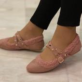 Нарядные балетки.