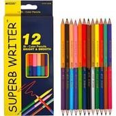 Цветные карандаши двусторонние 12 штук 24 цвета!