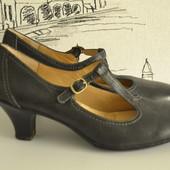Шкіряні туфельки підвищеного комфорту 39 розмір