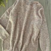 Женский свитер. Размер xl-2xl( ориентироваться на замеры). В хорошем состоянии.