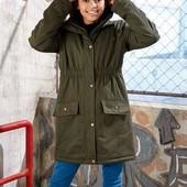 Теплая куртка-парка от немецкого бренда Pepperts размер 158