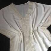 Блуза свободная George- 18/46p.Шикарные формы.