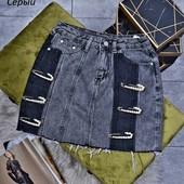 ❤ 1 ростовка! Джинсовая юбка отличного качества