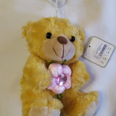 Мягкая игрушка Мишка с цветочком