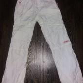 Белоснежные спортивные штаны в идеале