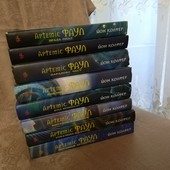 Артеміс Фаул. 8 книг одним лотом! Дитяча фантастика. Повна серія. Рекомендую!