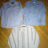 3 рубагки для мальчика р.128-134