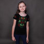 Вышиванка для девочки 8-10 лет