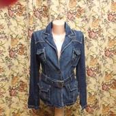 Джинсовая куртка-пиджак 42 S-XS
