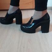 Акция!!!Натуральная кожа!!! ботинки/ туфли Код: Акция!!!