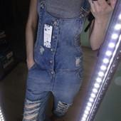 Новый крутой джинсовый комбез шорты на лето! Размер XS-S